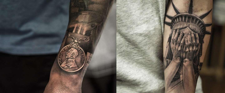 Deze tattoos van artist Niki Norberg zijn super realistisch