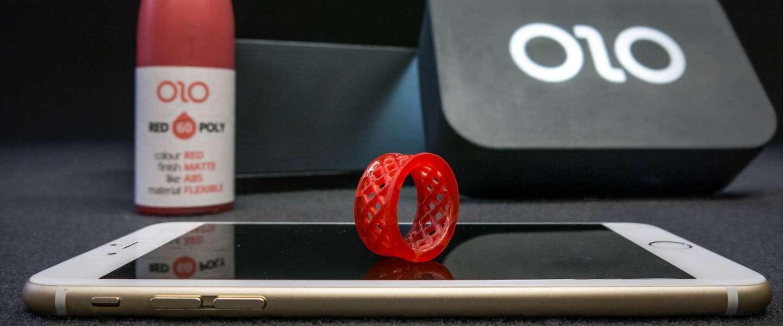 OLO een 3D printer die het licht van je smartphone gebruikt