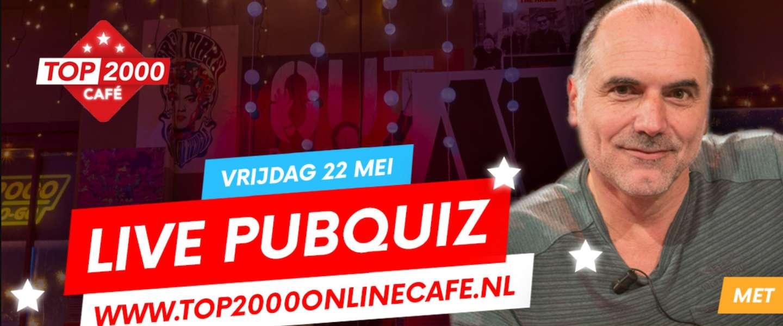 Live Pubquiz: test je muziekkennis in het Top 2000 Online Café