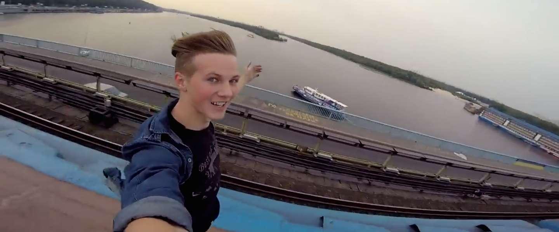 Awesome video: deze jongen springt op een rijdende metro