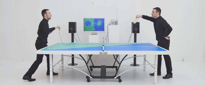 Ping Pong FM: tafeltennissen op de maat van de muziek