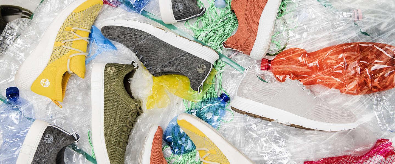 Nieuwe Timberland schoen bestaat voor 50% uit gerecyclede petflessen