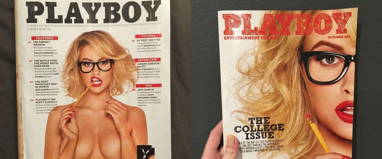 Nederlandse Playboy blijft naaktfoto's publiceren