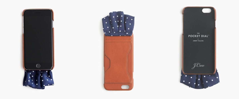 Deze iPhone-case is ook een pochet