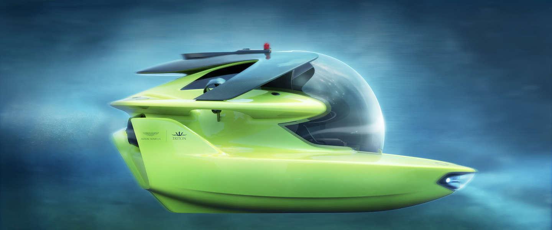 Aston Martin project Neptune, een limited edition duikboot