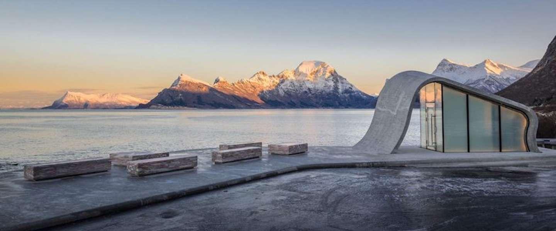 De allermooiste openbare wc ooit staat in Noorwegen