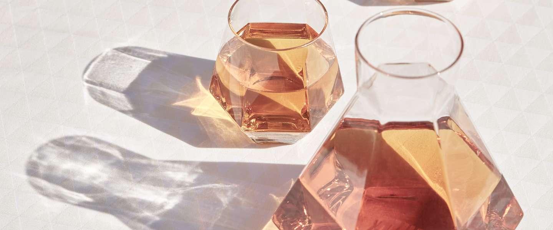 Deze glazen en vazen in diamantvorm wil je hebben