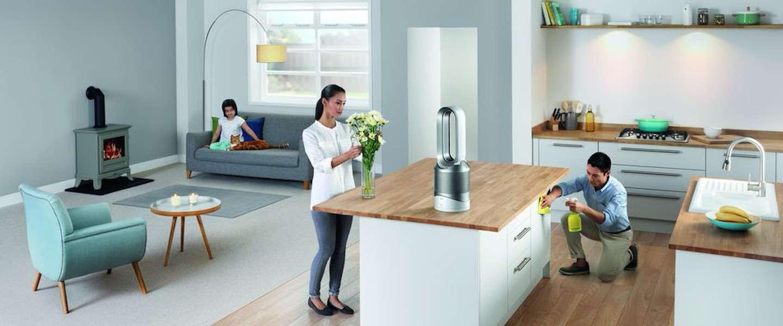 Regel zelf het klimaat in huis met de Dyson Pure Hot+Cool Link