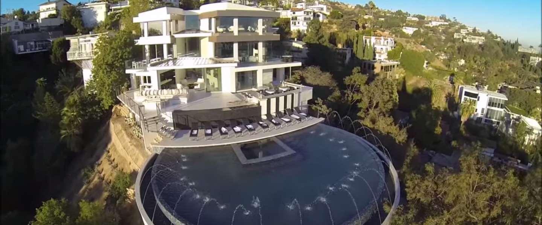Reinout Oerlemans zet superdeluxe villa in Hollywood te koop