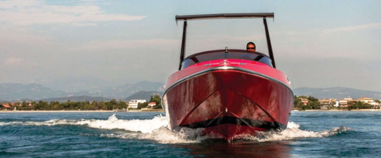 Gave speedboot: 1990 Riva Ferrari 32