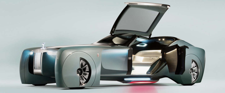 Futuristische auto: 103EX Vision Next 100 van Rolls-Royce