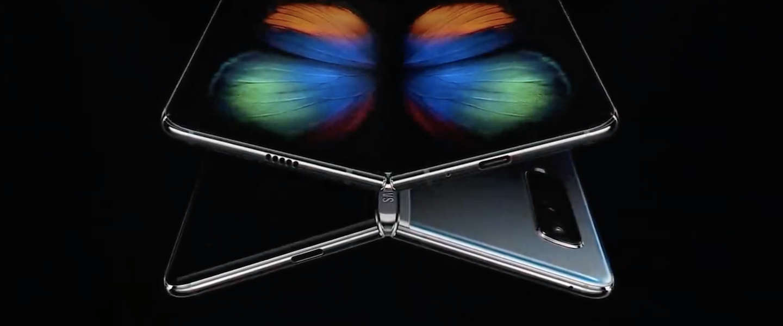 Opvouwbare Samsung Galaxy Fold vanaf vrijdag ook in Nederland