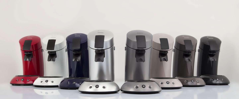 Best verkochte Senseo koffiezetapparaat in nieuw jasje gestoken