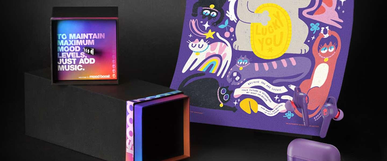 Skullcandy brengt maandelijks een dosis positiviteit met nieuwe producten, muziek en verhalen