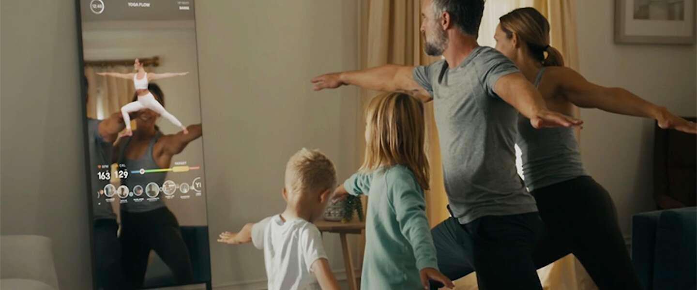 Lululemon verkoopt slimme spiegels die jou helpen om thuis te sporten