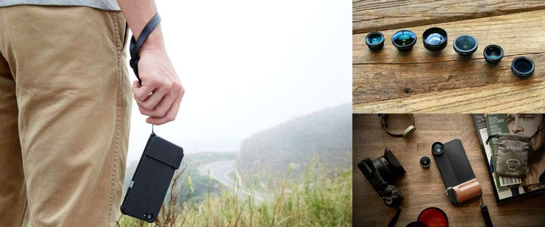 Met dit hoesje maak je in een handomdraai een camera van je iPhone