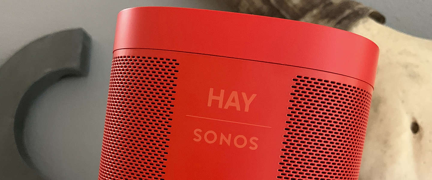 HAY for Sonos-collectie combineert design​ met luisterervaring​