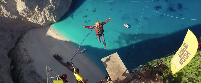 Een spectaculaire video op het iconische Navagio Beach