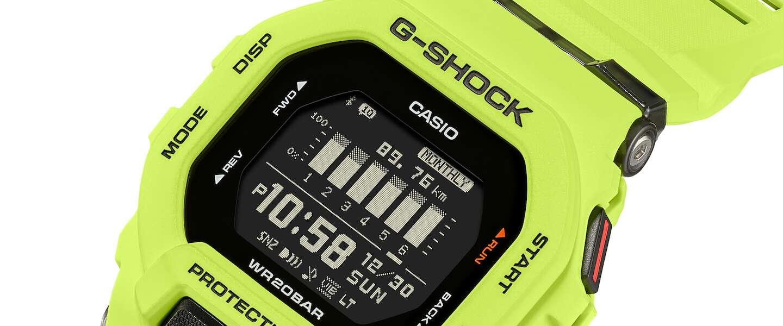 Nieuw retro sporthorloge van Casio G-SHOCK