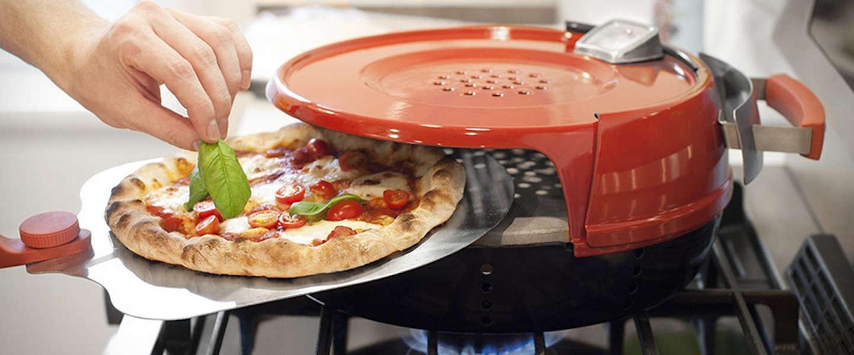 Vrijdag pizzadag: de Stovetop Pizza Oven