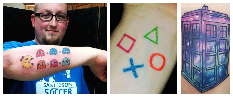 De 17 meest gave nerdy tattoo's