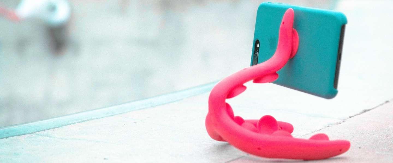 Tenikle: het smartphone camerastatief dat echt overal op kan