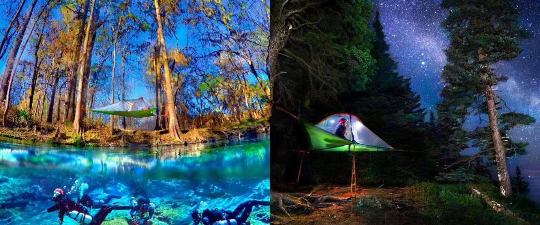 Met deze tent wordt kamperen wel heel erg leuk