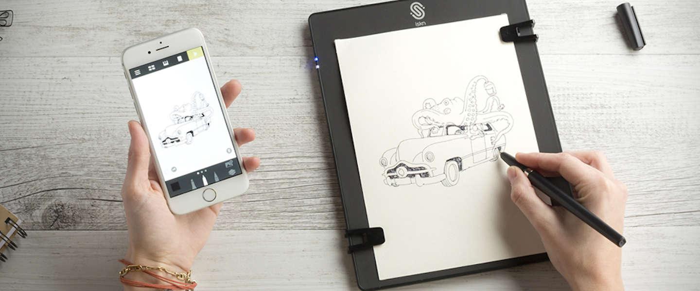 Al je notities en tekeningen digitaal verzamelen met the slate for Zelf tekenen op de computer