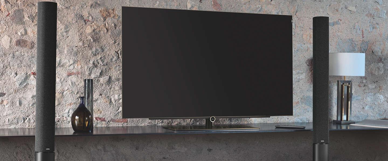 Samsung Tv Met Meubel.Zwevende Tv Meubels Zijn Helemaal Hip
