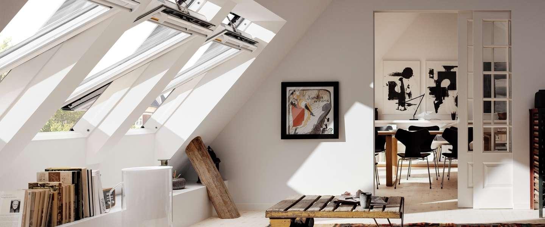Slimme dakramen en lichtkoepels van VELUX zijn handig én veilig