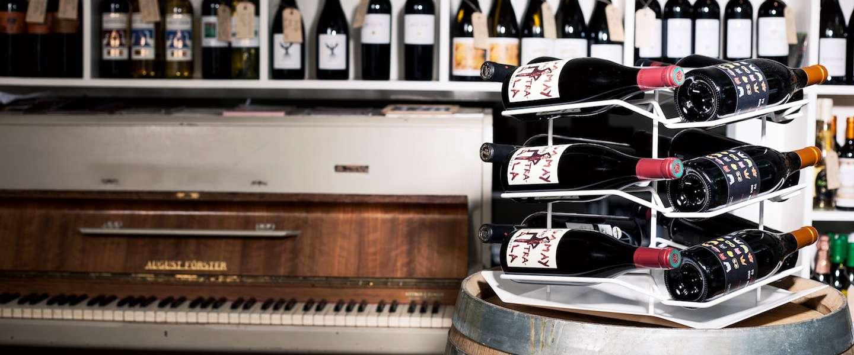 Slim design maakt wijn onderdeel van het interieur