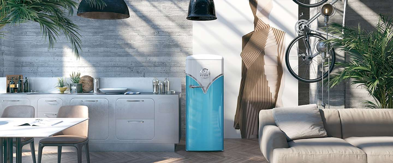 Haal je favoriete hippiebus in huis in de vorm van een koelkast