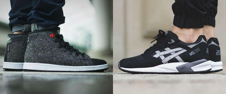 5 vette zwarte sneakers voor mannen