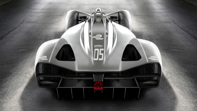 05 Formula E Spark Season 5 Rear