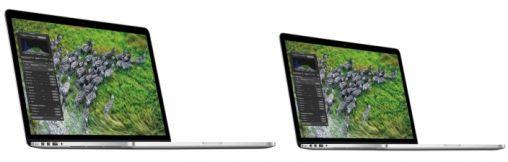 13 inch MacBook Pro met Retina display