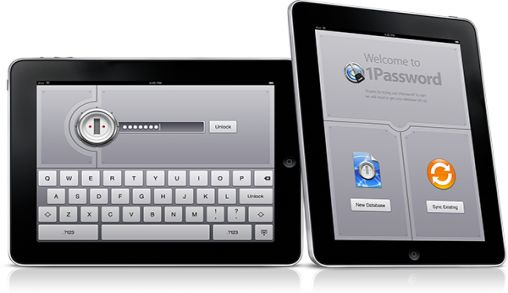 1Password voor iPad