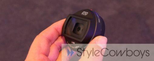 3D lens Panasonic 2