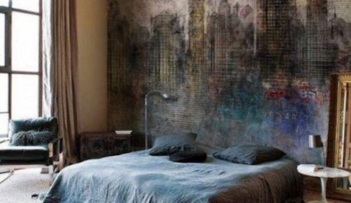Onbewerkte Rauwe Muren : 5 keer slaapkamer inspiratie!