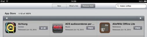 Aantal Apps voor iPad boven de 10.000