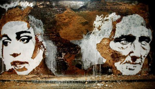 Alexandre Farto aka Vhils maakt van je Muur en waar Kunstwerk