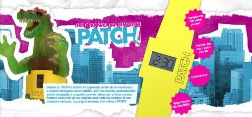 Altanus Patch Horloge van Papier
