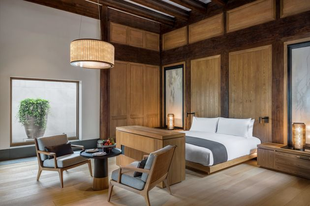 Amanyangyun-hotelkamer