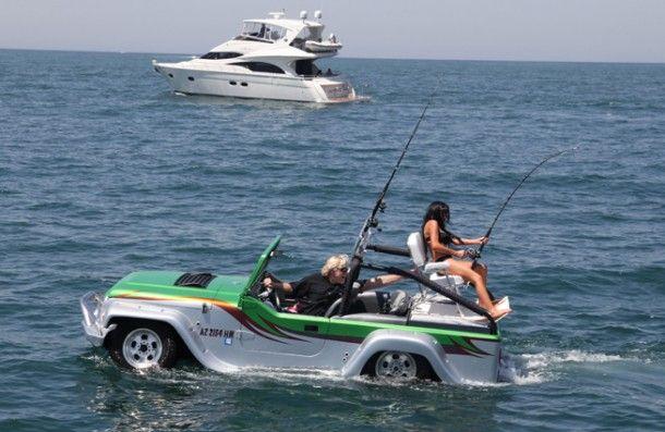Amfibische-auto