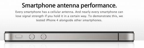 Apple Antenne website