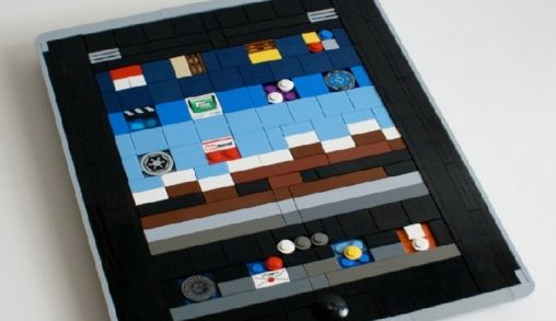 Apple iPad van Lego