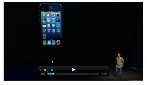 Apple publiceert video iPhone 5 event