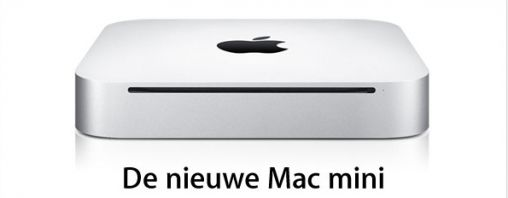 Apple's vernieuwde Mac mini