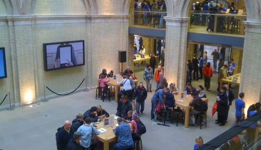 Apple Store Covent Garden London