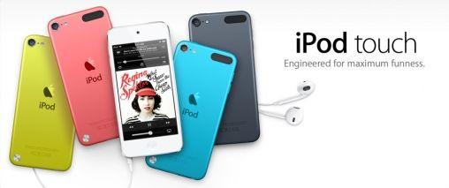 Apple toont nieuwe iPod Touch