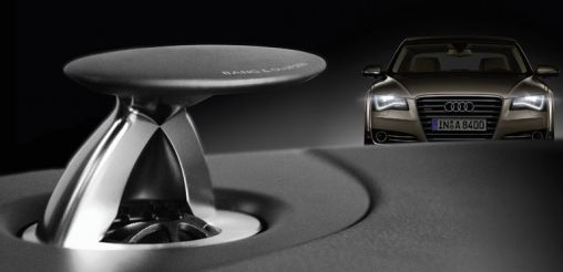 Audi A8 met Bang & Olufsen Sound